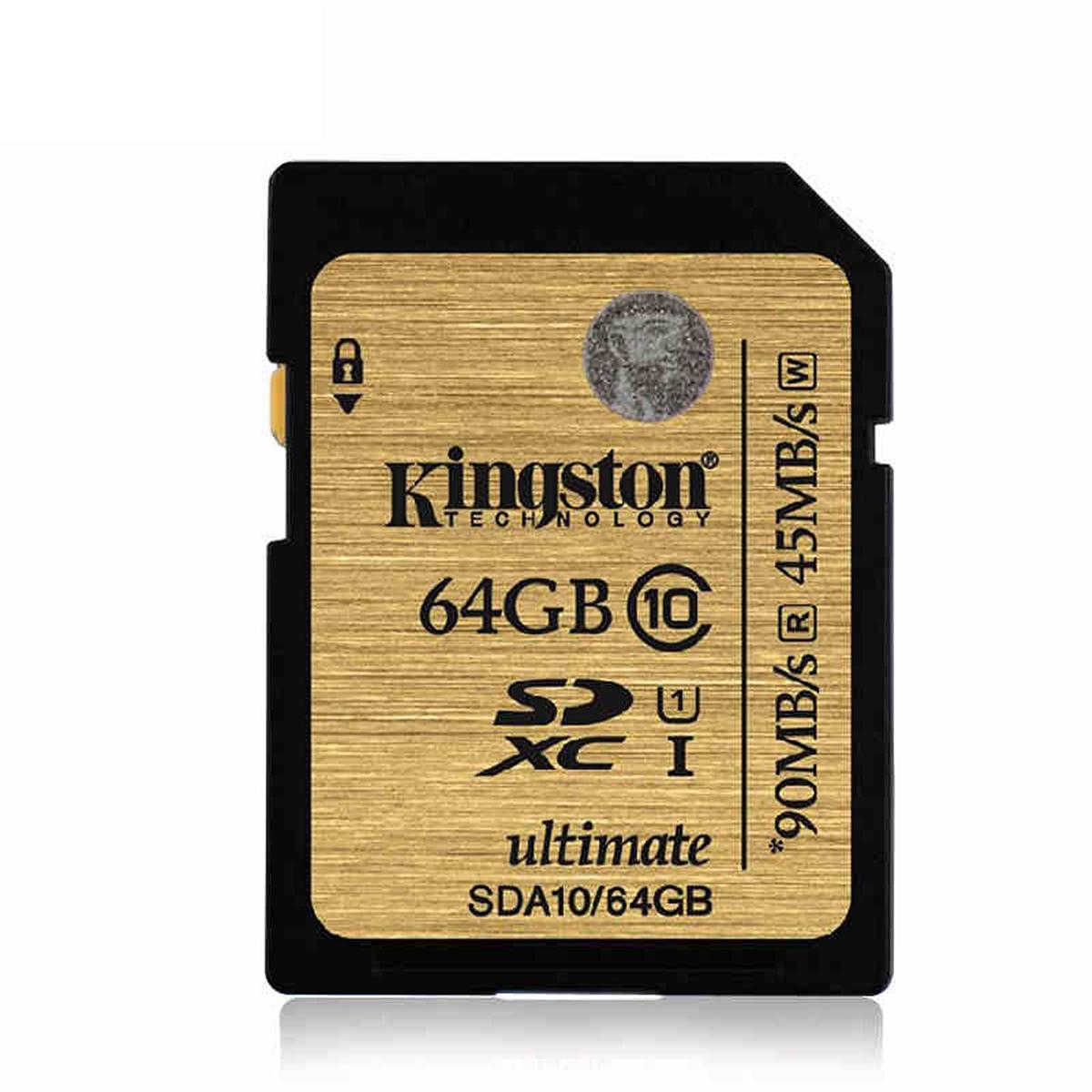 金士顿 SDA10/64GB SD卡 64G 土豪金 (单位:个)