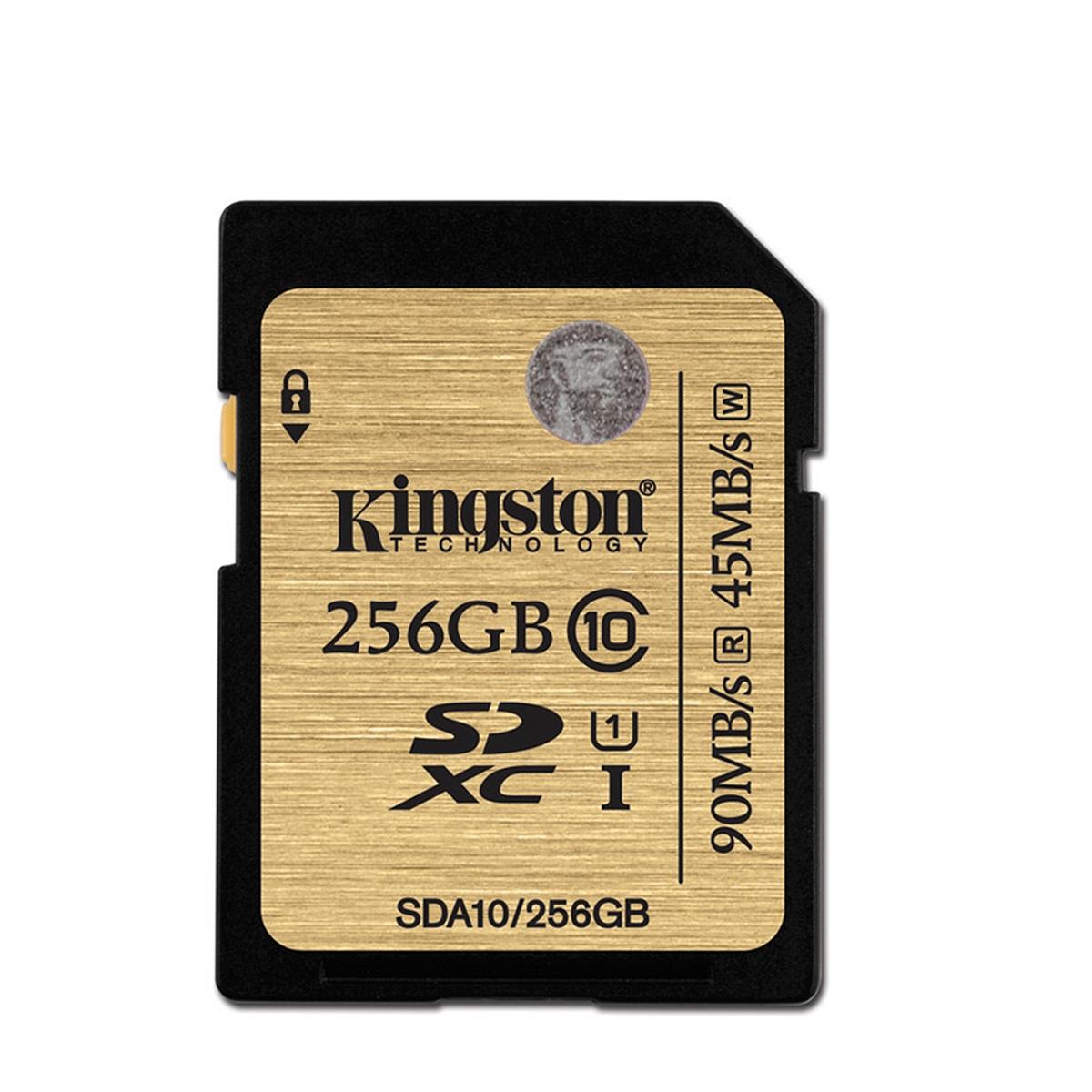 金士顿 SDA10/256GB SD卡 256G(单位:个) 土豪金