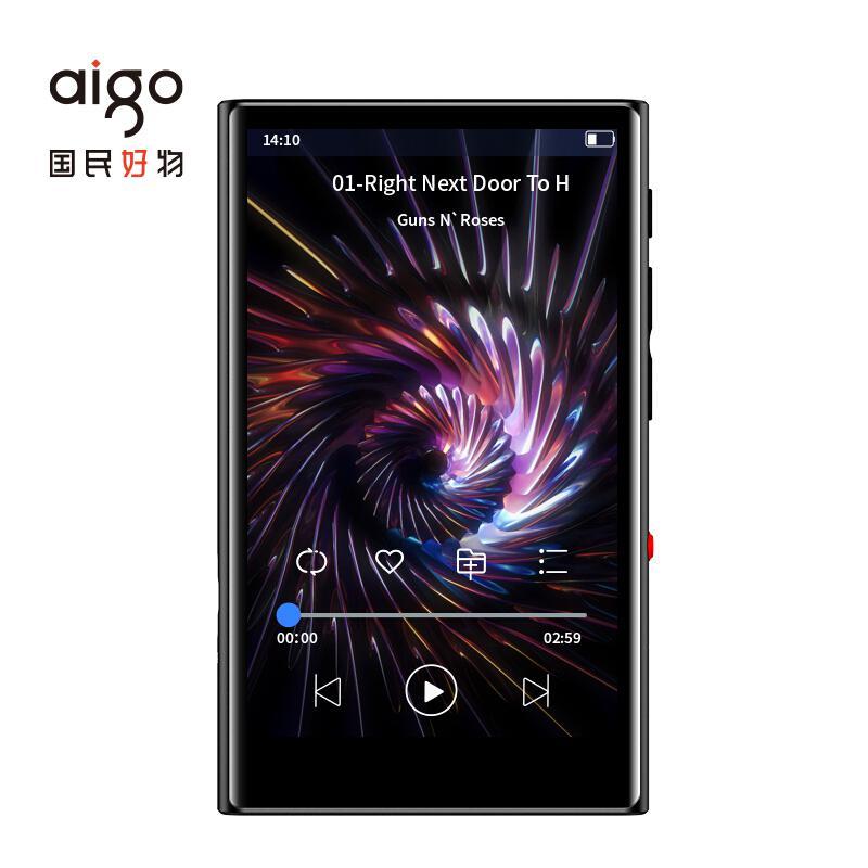 爱国者(aigo) M2 16G 4英寸 视频播放器 (计价单位:台)黑色