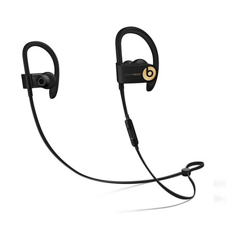 Beats Powerbeats-3 无线蓝牙 挂耳式耳机 王者金 (单位:副)