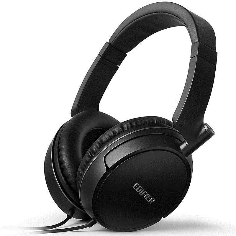 漫步者 H841P 立体声头戴式耳机 黑色 (单位:个)