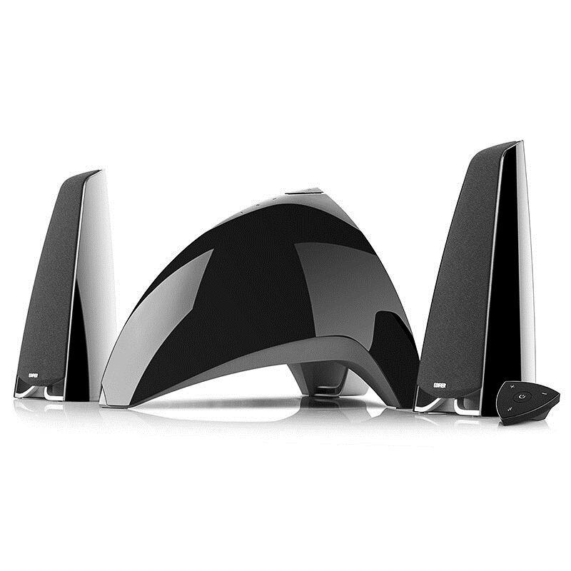 漫步者 E3360BT全功能 多媒体音箱 黑色 (单位:个)