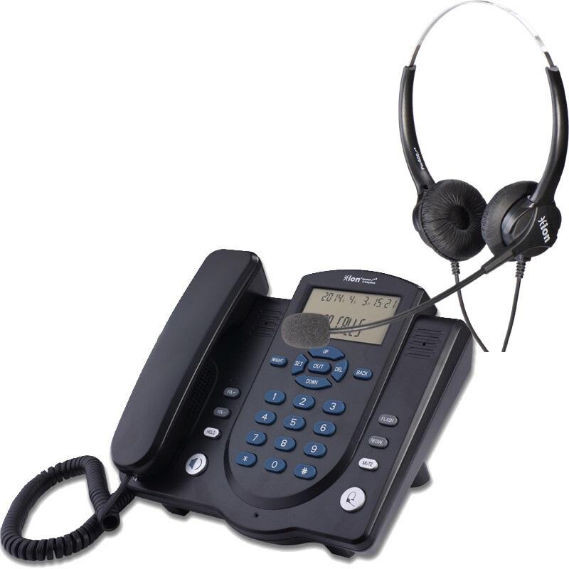 北恩860耳麦话机主机+FOR600D双耳耳机(套)