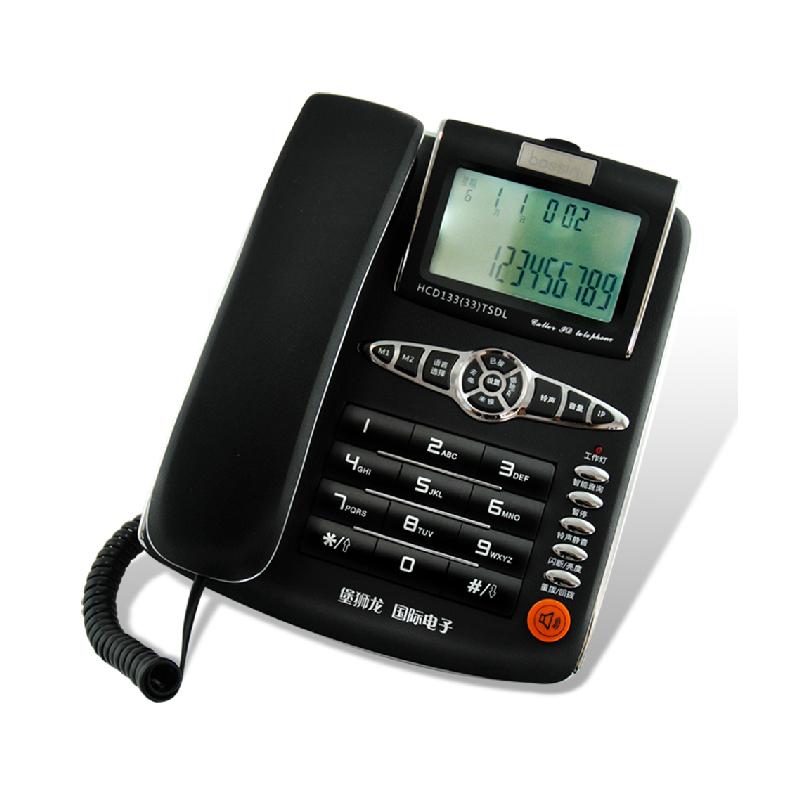 堡狮龙 HCD133(19)免提电话机 (单位:台)
