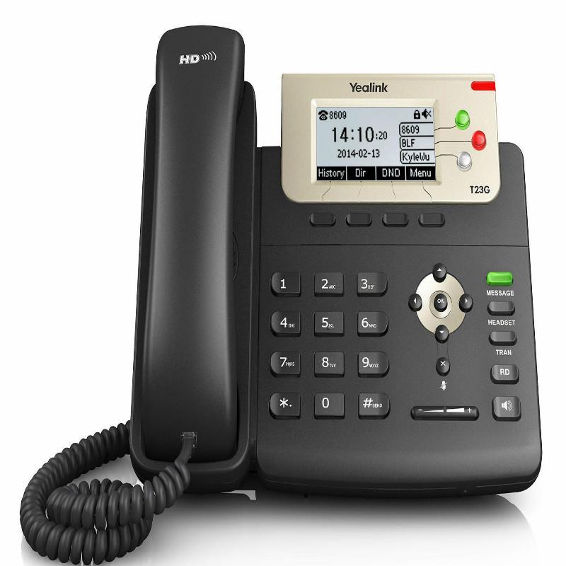 亿联SIP-T23G电话机(个)