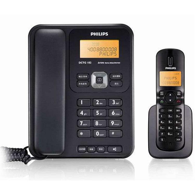 飞利浦 DCTG1821B/93 数字子母电话机  (台)