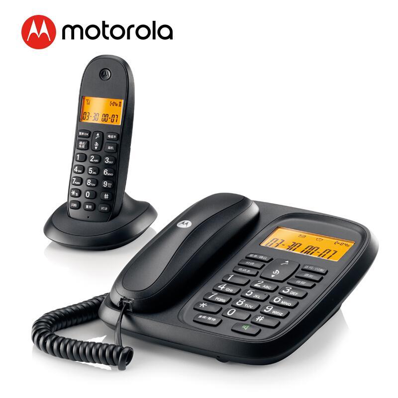 摩托罗拉CL101C数字无绳电话机子母机黑(台)