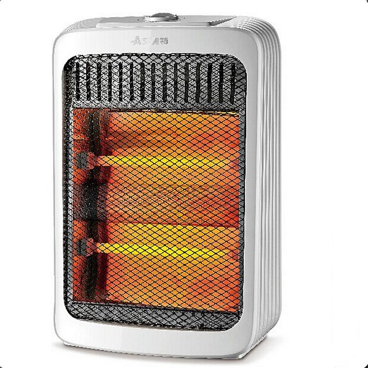 艾美特(Airmate)HQ8082 电暖器 立式小太阳(台) 白色