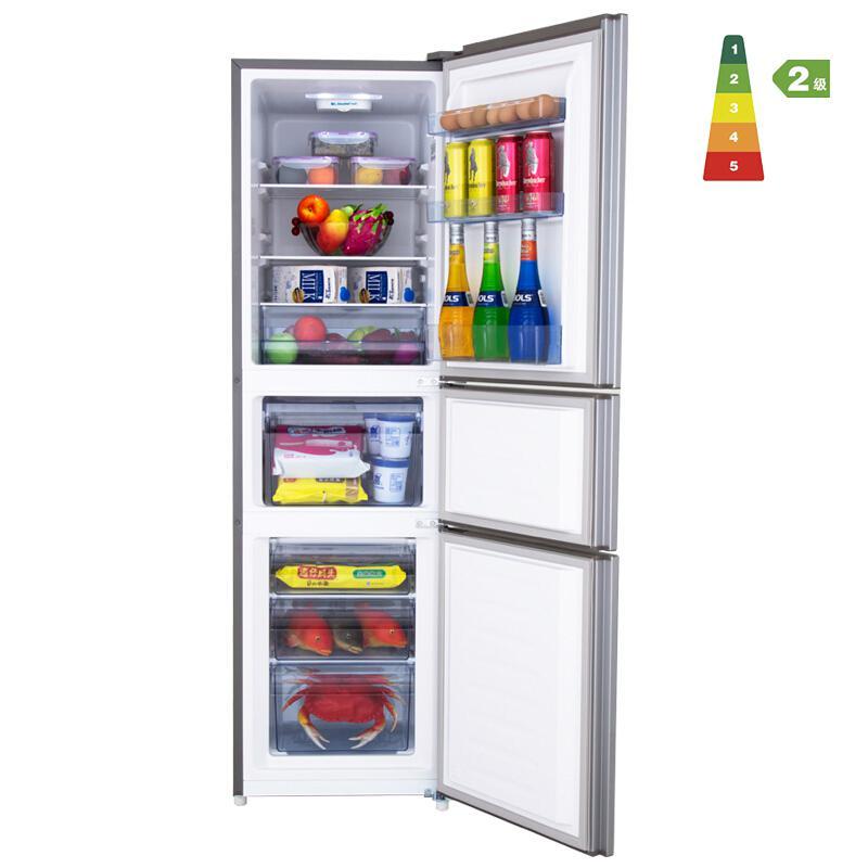 海信BCD-220D/Q三门电冰箱琥珀金(台)