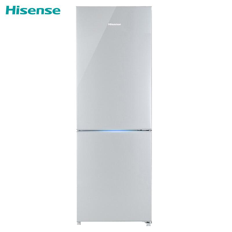 海信(Hisense)BCD-176F/A 直冷 176L 机械控温 双门冰箱(台)银色