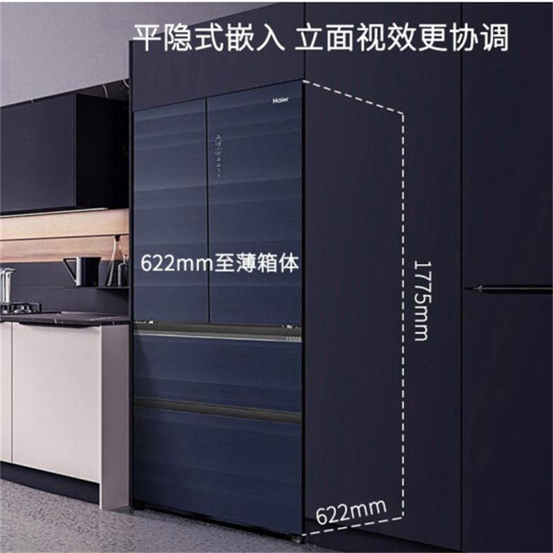 海尔BCD-462WGHFD15BJU1法式多门冰箱462L(1086)(台)