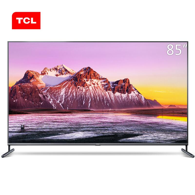 TCL 85X6C 85英寸 4K 三级能效 平板电视(台)