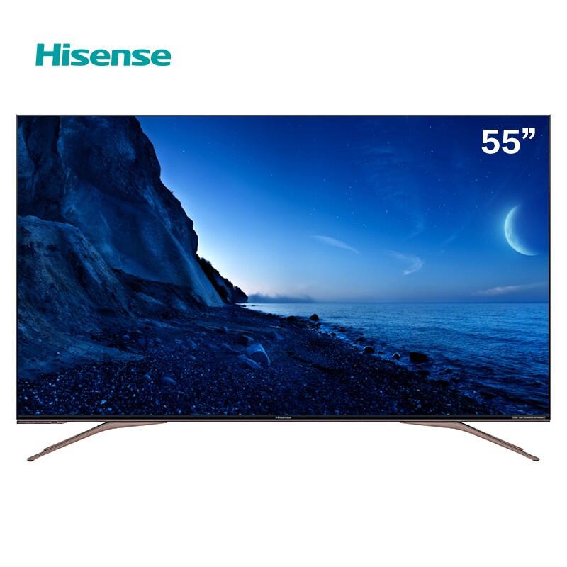 海信(Hisense)HZ55A65E 55英寸 4K 三级能效 平板电视(台)