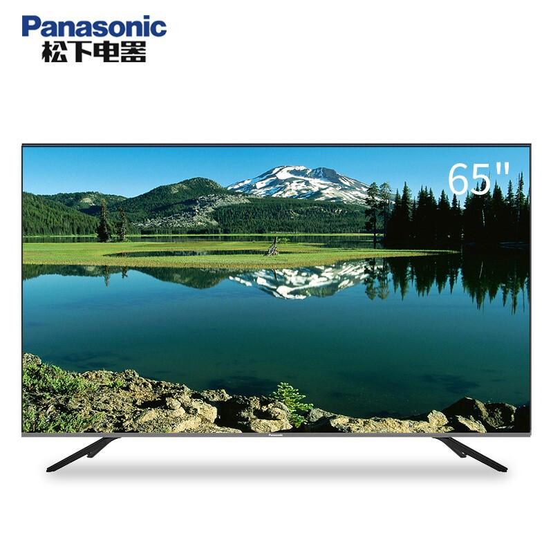 松下(Panasonic)TH-65GX700C 65寸 4K 液晶平板电视机(台)黑色