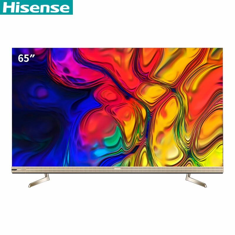 海信(Hisense)HZ65U8E 65英寸 4K 零框感 平板电视机(台)