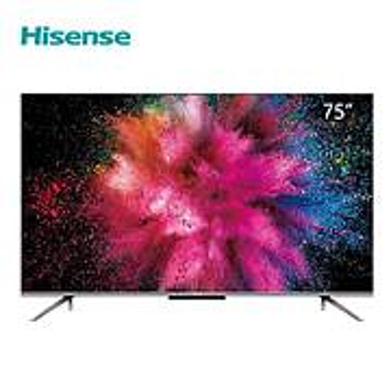 海信HZ75A59E全面屏电视机黑色75英寸4K超高清AI智能(台)