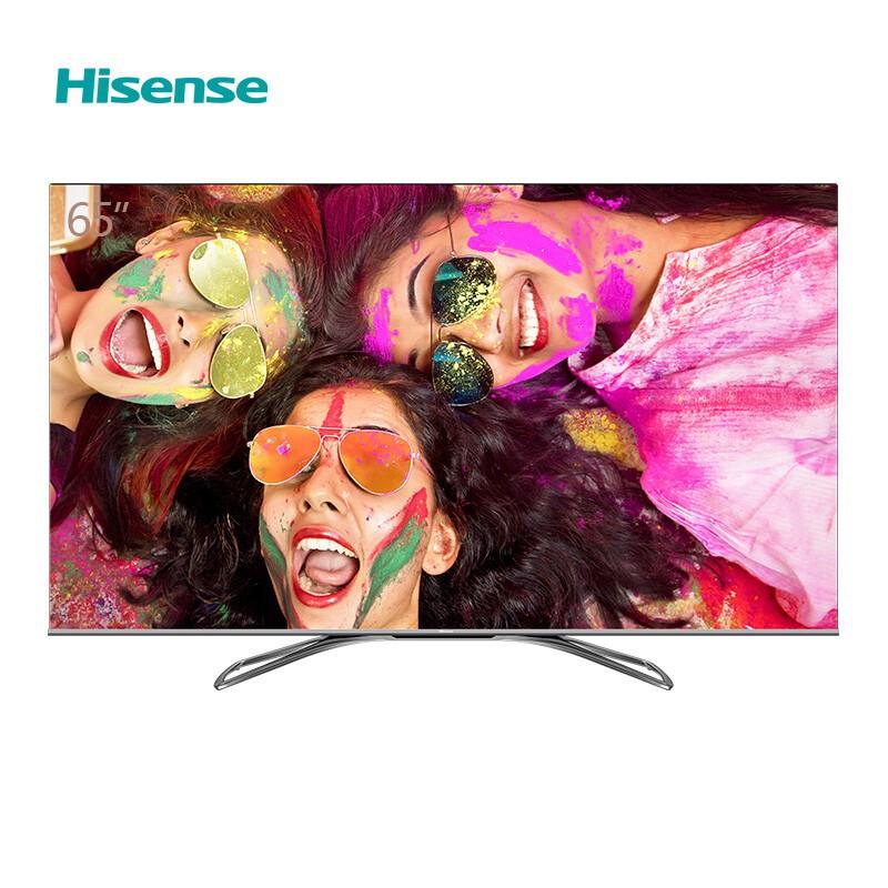 海信(Hisense)HZ65U7E 65英寸 4K ULED超画质 全面屏AI超画质 智能音箱 液晶电视 智能液晶平板电视机(台)