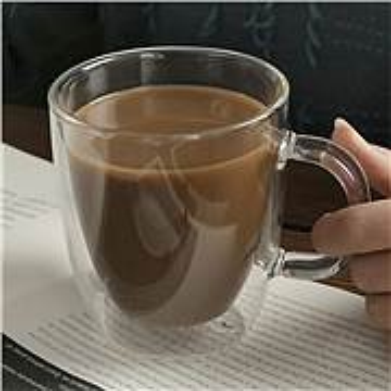 乐美雅玻璃茶水杯钢化微波炉可以使用玻璃茶水杯(个)