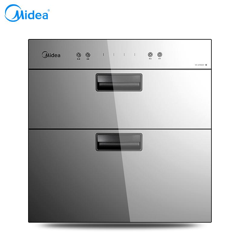 美的(Media)MXV-ZLP90QD301 不锈钢独立双模轻触按键消毒柜 90L(台)