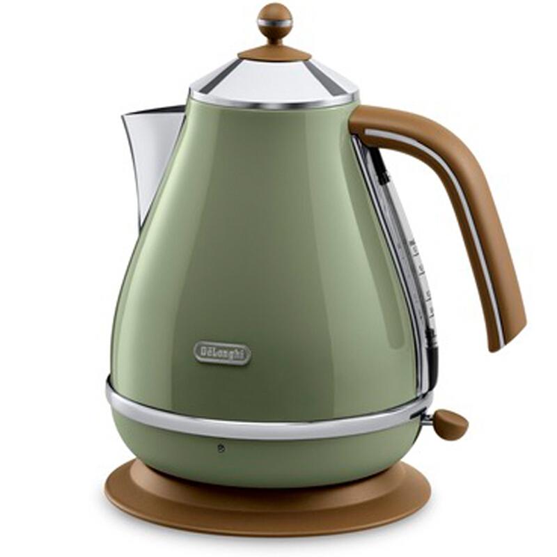 德龙(Delonghi)KBOV2001.GR 1.7L 电热壶(台)橄榄绿