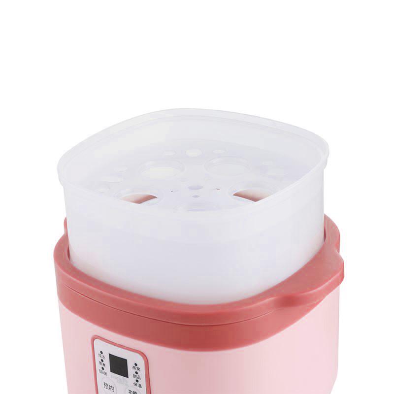 乐扣乐扣(LOCK&LOCK)EJP517PIK 200W 800mL 电炖盅(个)粉色