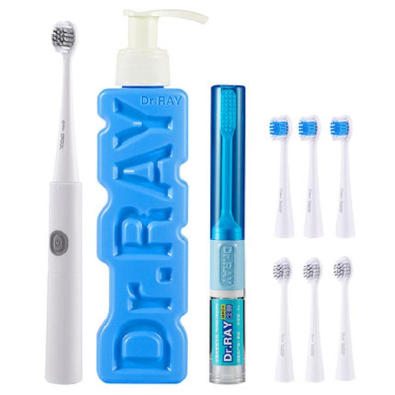 雷治D31泰国电动牙刷成人超声波全自动软毛刷1.5W/3V(单位:件)