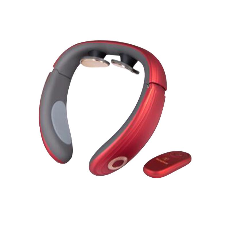 西屋(westinghouse)WCM-U200 热敷护颈仪充电便携无线低频脉冲 颈部按摩器(个)墨尔本红