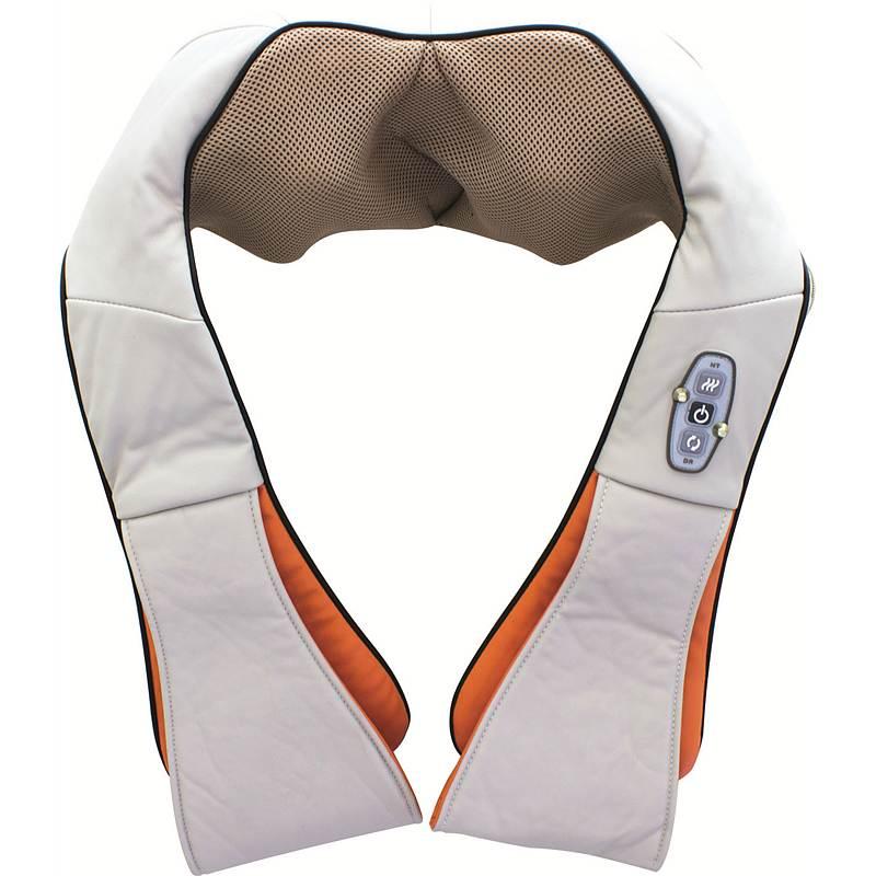 美仕达MS-B33(插电款)肩背揉捏按摩器橙色40X17X20cm(个)