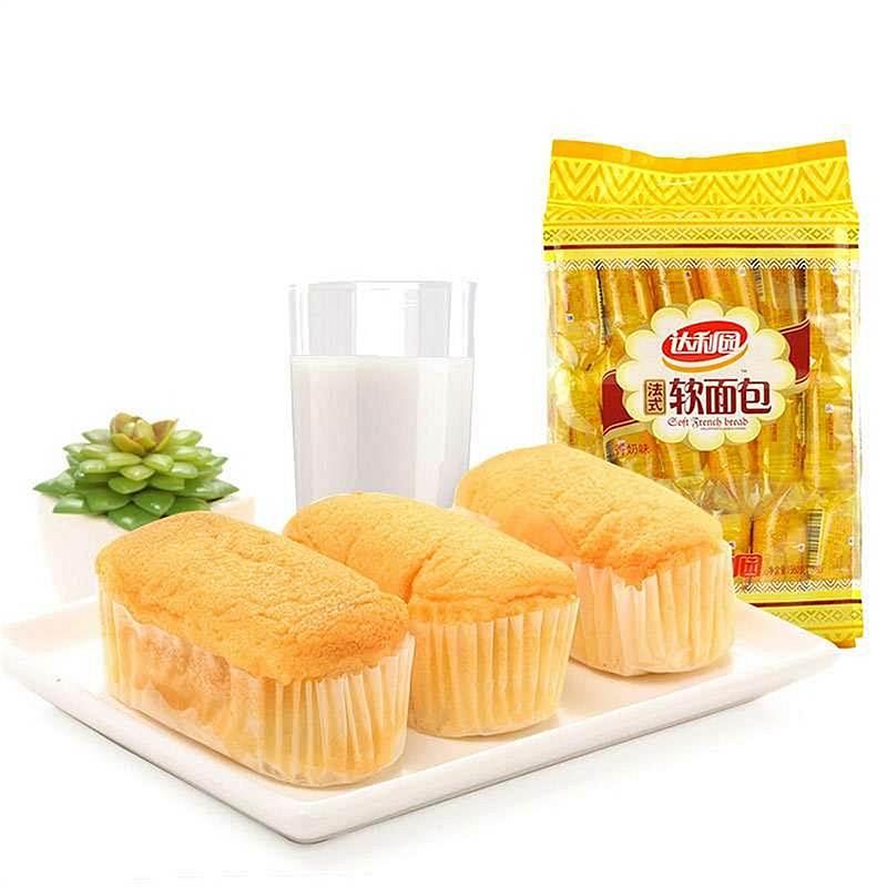 达利园 法式软面包 香奶味 360g/袋 (单位:袋)