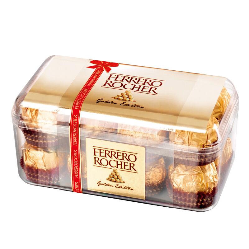 榛果威化糖果巧克力礼盒16粒200g