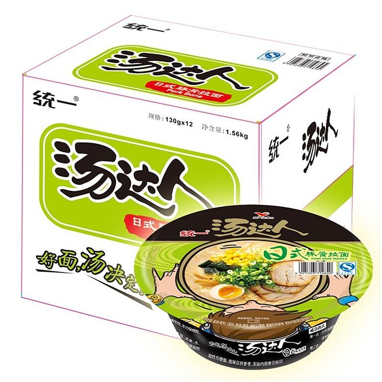 统一 汤达人 日式豚骨拉面 130g*12碗/箱 (单位:箱)