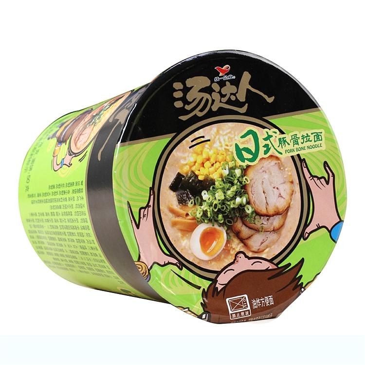 统一汤达人 日式豚骨拉面 78g*12杯/箱 (单位:箱)
