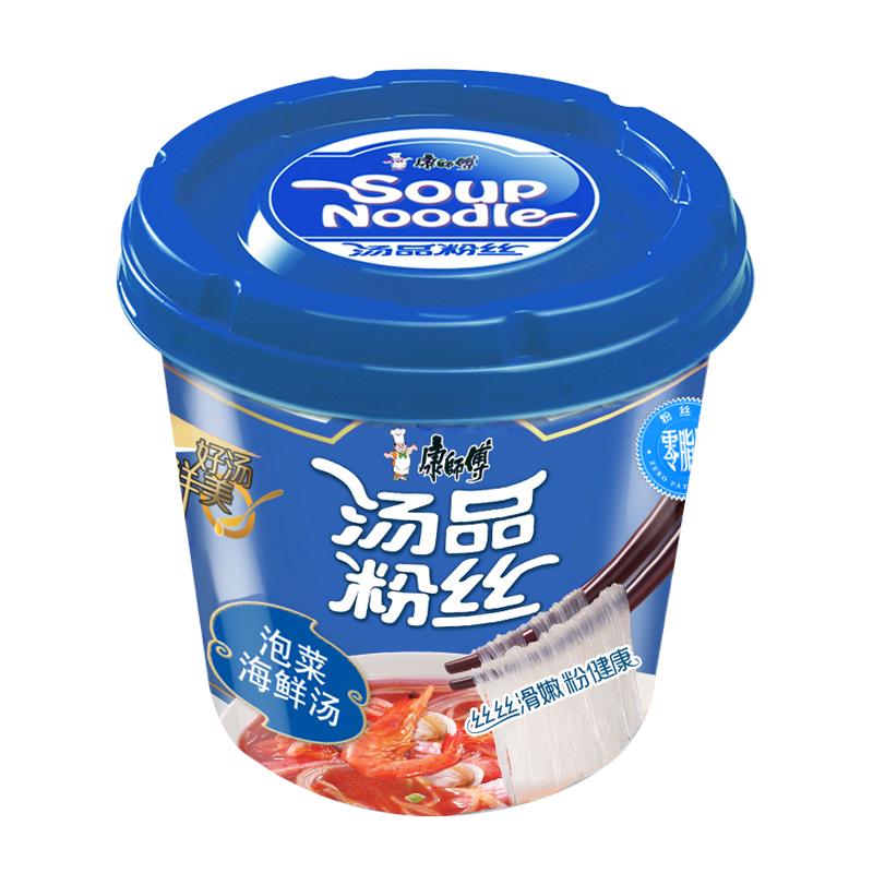康师傅 粉丝460杯泡菜海鲜汤 38g*12杯/箱 (单位:箱)