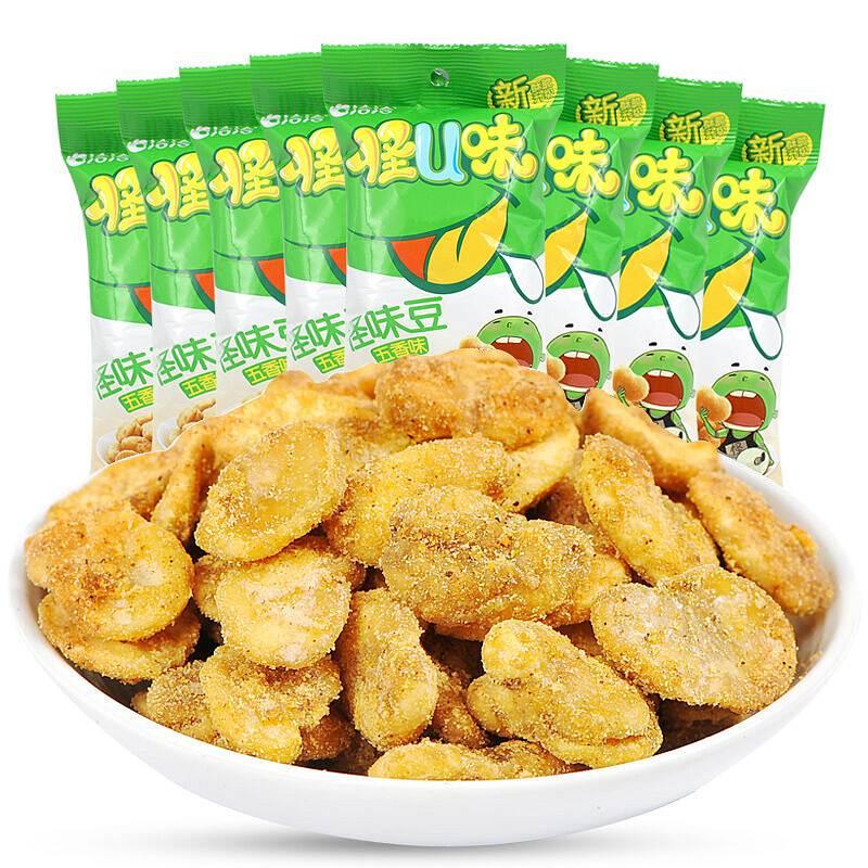 洽洽 怪U味怪味豆五香味 30g/袋 (单位:袋)