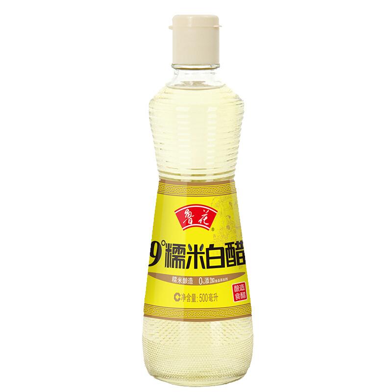 鲁花 9°白醋 500ml/瓶 (单位:瓶)