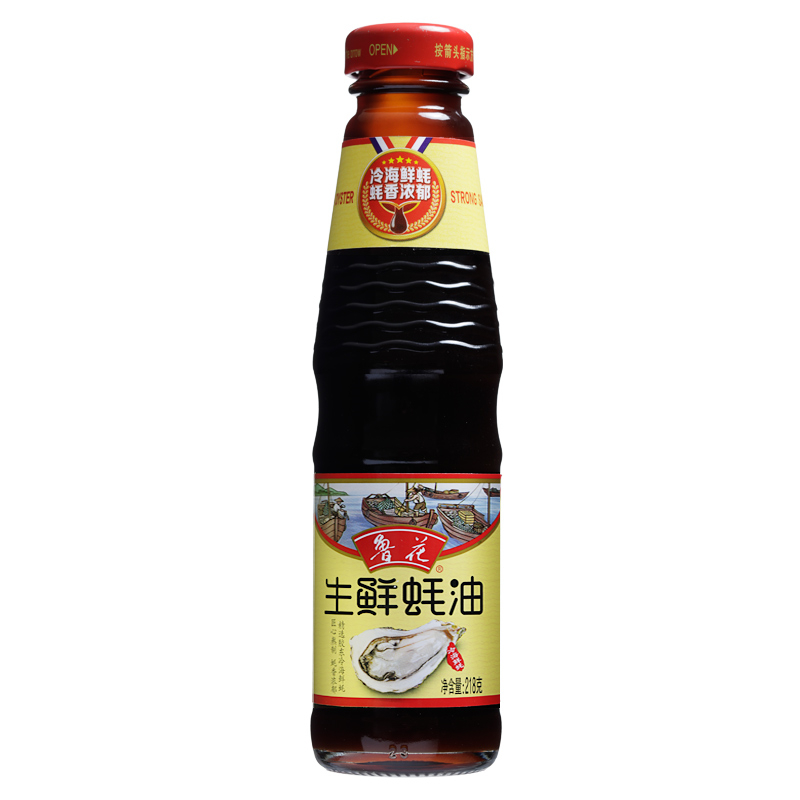 鲁花 生鲜蚝油 218g/瓶 (单位:瓶)