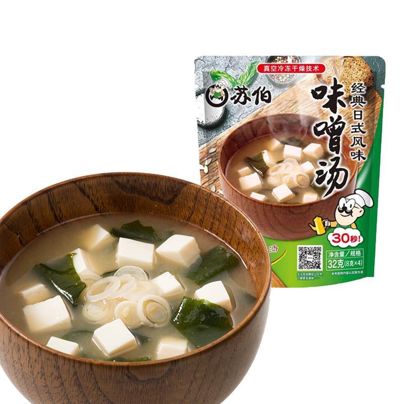 苏伯 小菜汤料 味增汤8g*4袋(单位:袋)