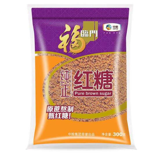 中粮福临门纯正红糖300g(单位:袋)