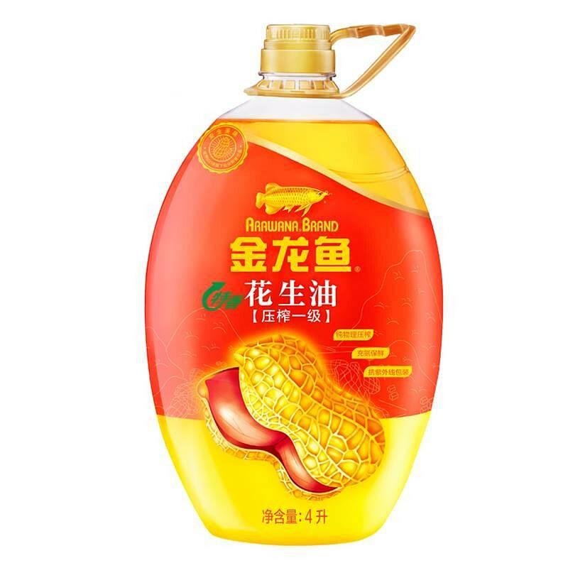 金龙鱼 特香花生油 4L/瓶 (非转基因) (单位:瓶)