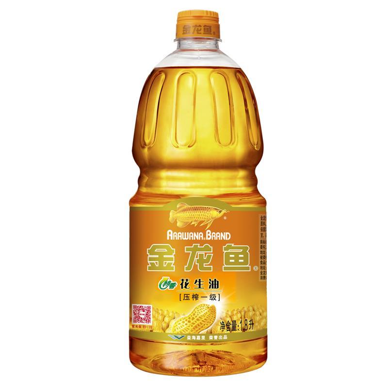 金龙鱼 特香花生油 1.8L(单位:桶)
