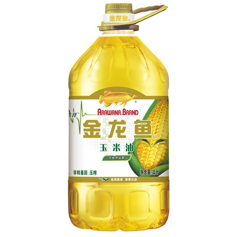 金龙鱼 玉米油4L 非转基因压榨(单位:桶)