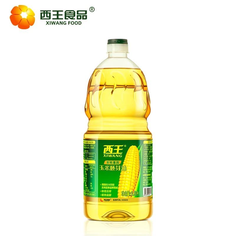 西王玉米胚芽油黄色1.8L(瓶)