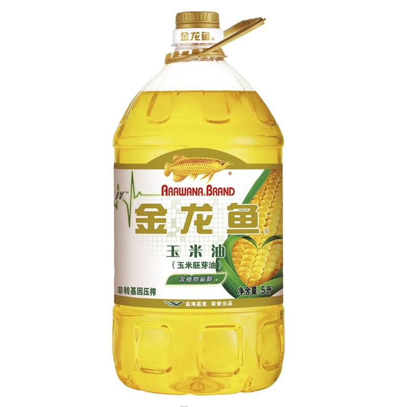 金龙鱼 5L 纯正玉米油(非转压榨)(计价单位:桶)