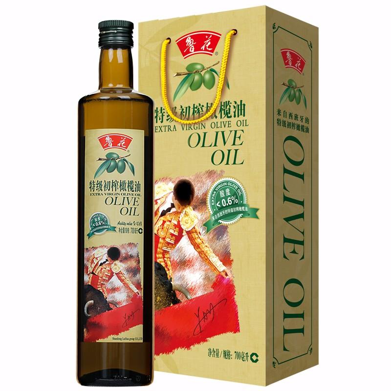鲁花 橄榄油 700ML/瓶 (单位:瓶)