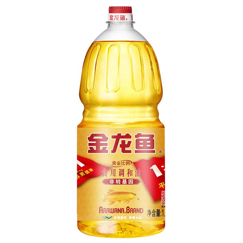 金龙鱼 非转基因 黄金比例调和油 1.8L/瓶 (单位:瓶)