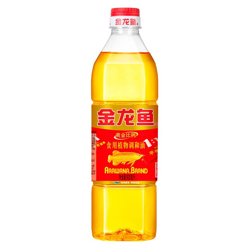 金龙鱼 黄金比例食用调和油 900ml/瓶 (单位:瓶)