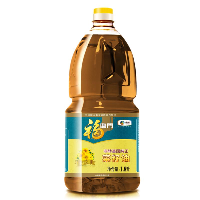 福临门 1.8L 非转基因菜籽油 (单位:桶)