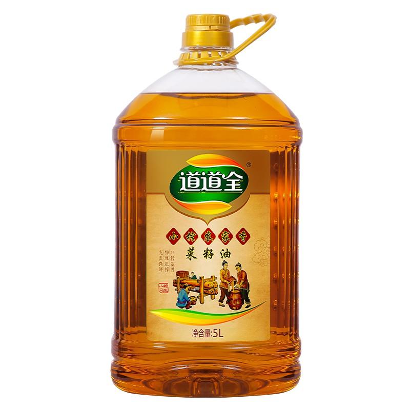 道道全小榨农家香菜籽油5L(单位:瓶)
