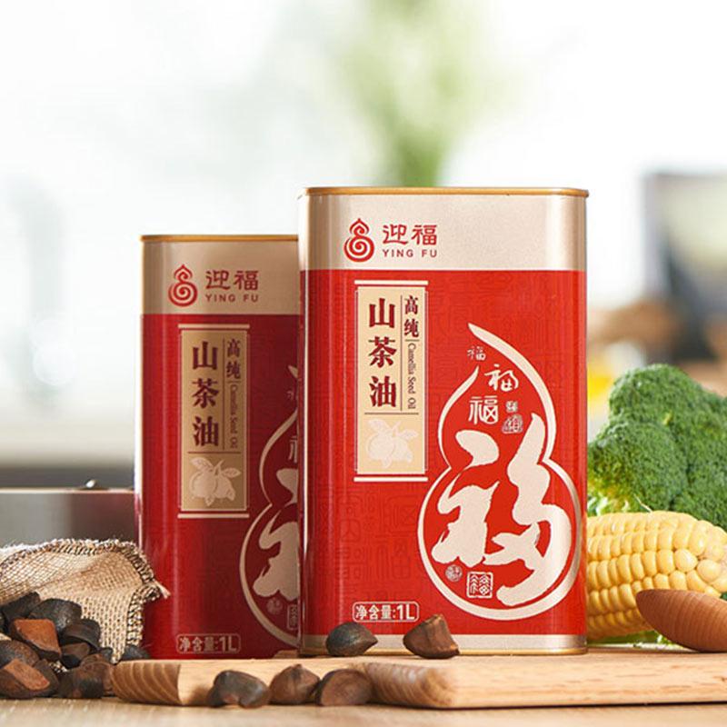 迎福高纯山茶油1L(盒)