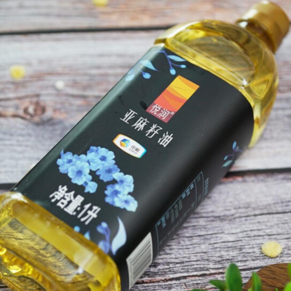 中粮悦润亚麻籽油1L(瓶)